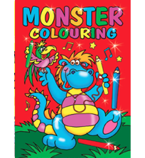 Colouring Books And Activity For Children