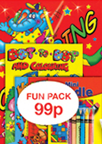 WF Graham activity fun packs, books, childrens colouring books and ...