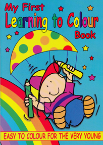 colouring and activity books starting for very young children and upwards to teenage years - Colouring Books For Children
